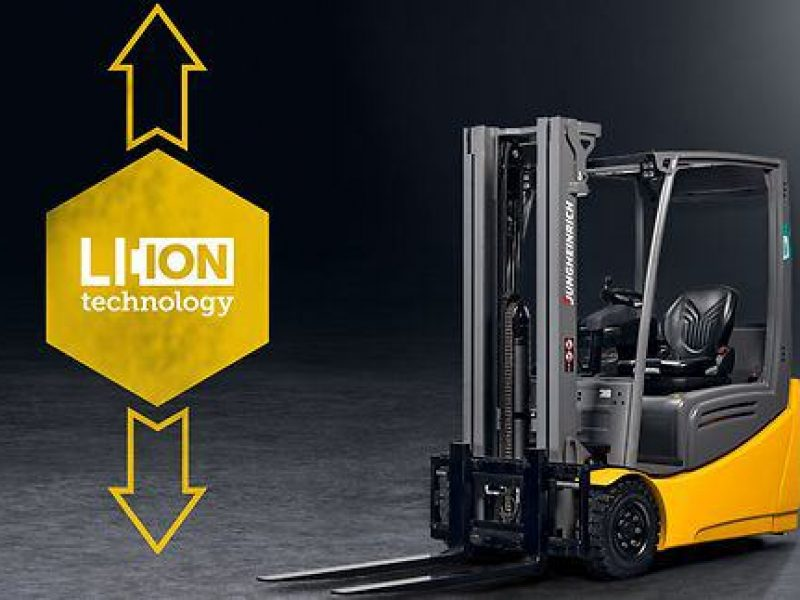 Focus on Jungheinrich Electric Forklifts from FTW