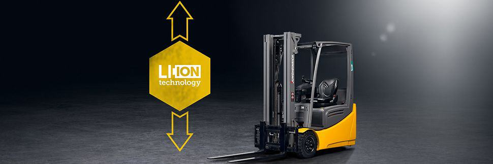 Jungheinrich forklifts from FTW