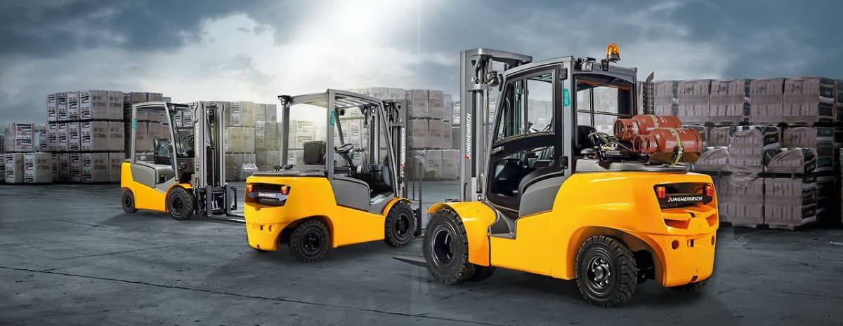 Buy a Jungheinrich forklift from FTW = The Forktruck Warehouse