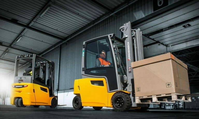 electric forklifts from FTW_feature image